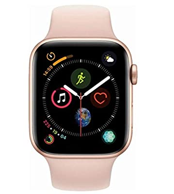 Apple (2018) Apple Watch Series 4 GPS + Cellular, 40MM Gold Aluminum Case with Pink Sand Sport Band