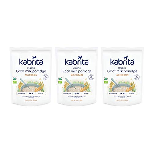 Kabrita Organic Goat Milk Porridge, Multigrain, (Pack Of 3)