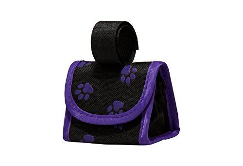 Five Star Pet Paw Print Dispenser and Pet Clean Up Bags, Purple