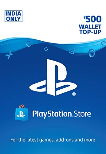 Rs.500 Sony PlayStation Network Wallet Top-Up (Email Delivery in 1 hour- Digital Voucher Code)
