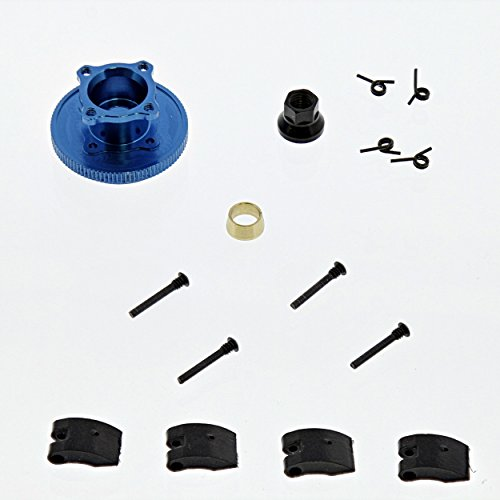 Team Losi 8ight Nitro Buggy 1/8: Flywheel & Collet, Clutch Shoes & Springs, Nut (Team Flywheel Losi)
