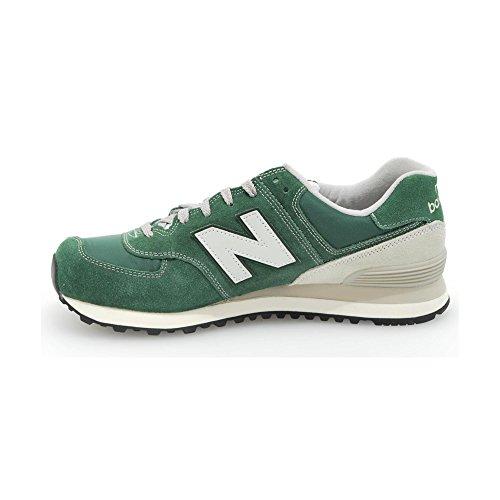 New Balance NBML574VFO Herren Low-top (39,5 EU, Grün (Green))