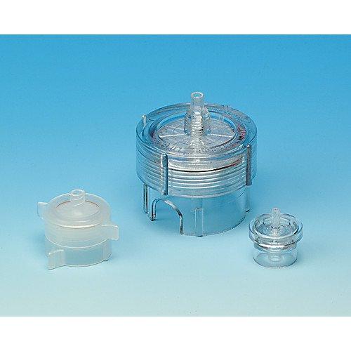 Syringe Filter Holder - Whatman 420200 Polypropylene Swin-Lok Syringe-Type Reusable Membrane Filter Holders, 25mm Diameter, 3.5cm OD x 3.7cm Height (Pack of 10)