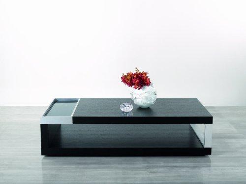 black oak coffee table - 7