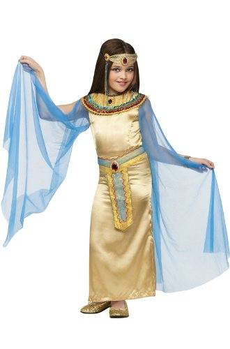 Big Girls' Deluxe Cleopatra Costume Small (4-6) ()