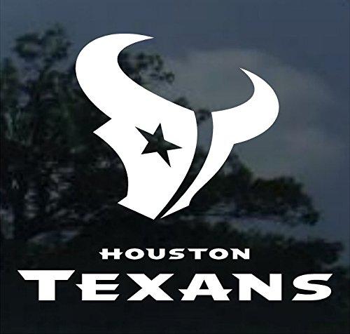 Crawford Graphix Houston Texans 18-Inch Diecut Decal
