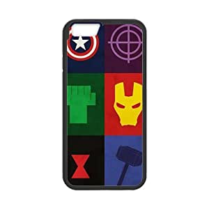 the Case Shop- Avengers 2 Avengers2 Age of Ultron Super Hero TPU Rubber Hard Back Case Silicone Cover Skin for iPhone 6 4.7 Inch Case , i6xq-740