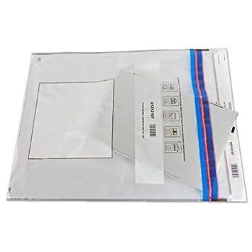 100 Bolsas transparentes A3 para pruebas de tampón: Amazon ...