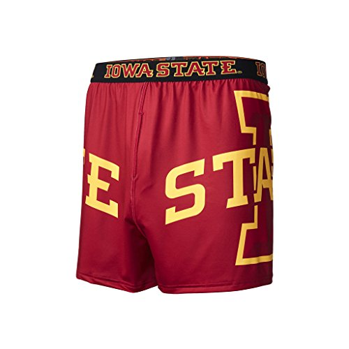 (FANDEMICS Men's Base Layer Underwear, Iowa State, S (28-30))