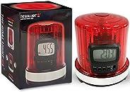 Fan Fever 99210 NHL League Logo The Goal Light Alarm Clock, Small, Black