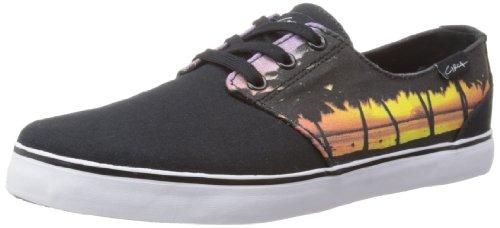 C1rca Menns Crip Mote Sneaker Svart / Solnedgang