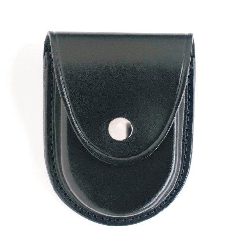 Gould & Goodrich B580 Round Bottom Handcuff Case Place On Belt Up to 2-1/4-Inch (Black)