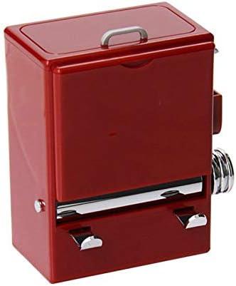 SPNEC Retro de la Personalidad palillo de Dientes Caja expendedora Estilo máquina de prensado Ornamento palillero dispensador de la Caja de plástico