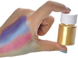 Polvo de pigmento de colores para slime, polvo de mica para hacer ...