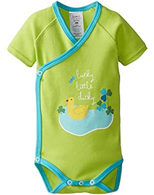 Baby Boys' Little E Screen S/Wrap Body