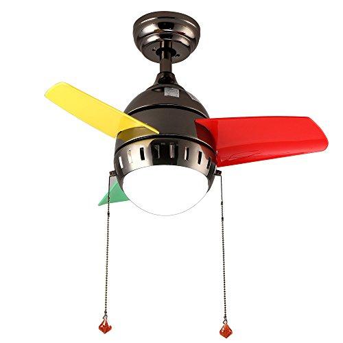 RainierLight Kid Ceiling Fan for Bedroom/Living