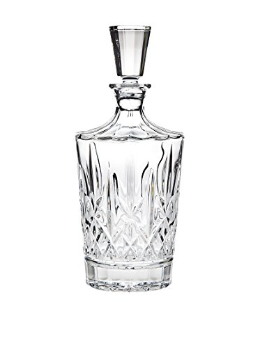 Godinger Aberdeen Whiskey Decanter for Liquor Scotch Vodka or Wine - 750ml