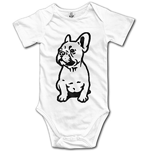 Cute French Bulldog Design Cute Baby Onesie Bodysuit