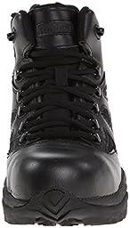 Reebok Work Men\'s Rapid Response RB8674 Safety Boot,Black,12 W US