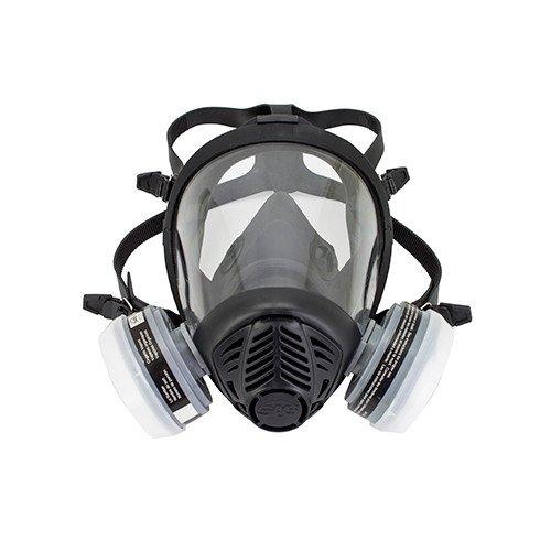 SAS Safety 312-3115 Full-Face Apr Respirator, Ov Cartridg...