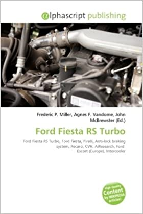 Ford Fiesta RS Turbo Paperback