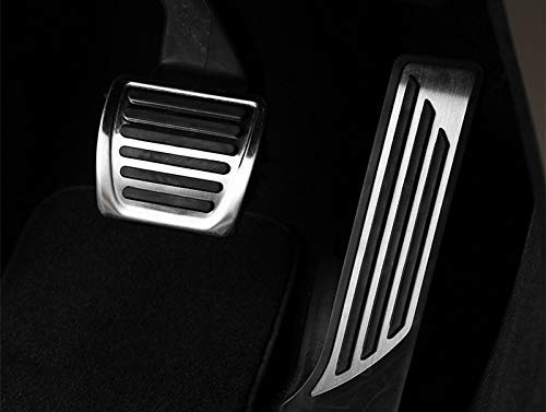 YIWANG for Alfa Romeo Giulia 952 Stelvio 949 2017-2019 Car Fuel Gas Brake Pedal Cover Trim Car Accessories