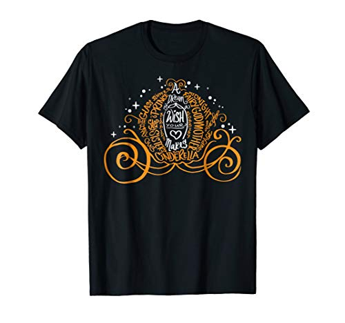 Disney Cinderella Halloween Pumpkin Coach Graphic T-Shirt -