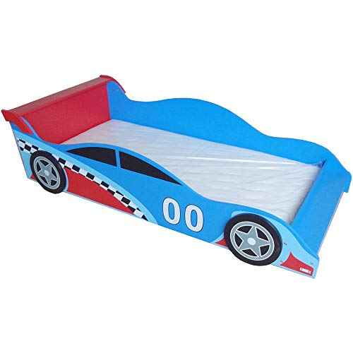 Used, Bebe Style Premium Wooden Toddler Bed Cool Race Car for sale  Delivered anywhere in USA