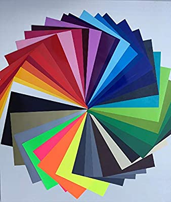 Schickliesel Plotter - Lámina Flexible para Textiles (38 Colores ...