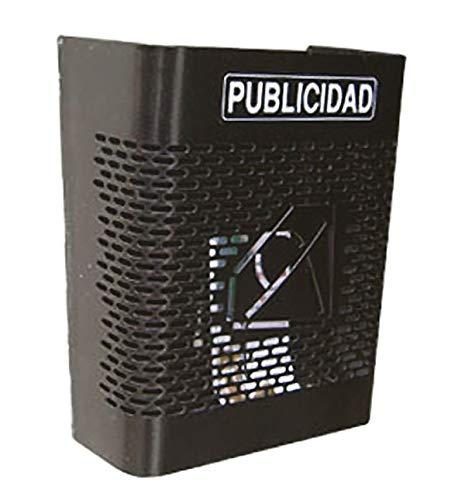Cassetta postale per la pubblicit/à 24 x 27 x 13 cm in rete nera BTV