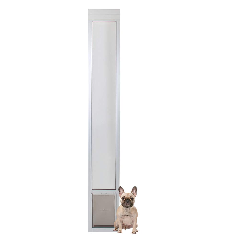 PetSafe Freedom Aluminum Patio Panel Sliding Glass Pet Door for Dogs and Cats
