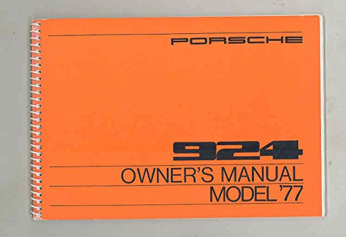 1977-porsche-924-original-owners-manual-warranty-manual