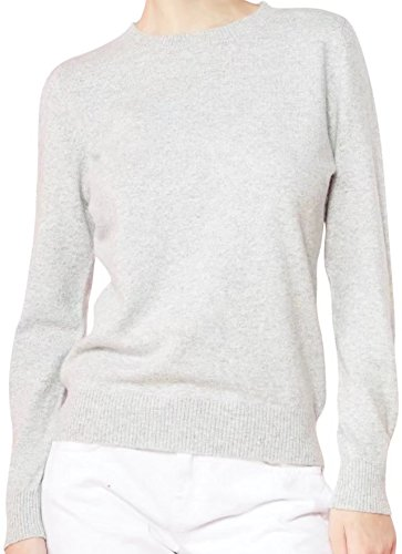 White Cashmere Sweaters (Liny Xin Women's Cashmere Sweater (Medium, White))