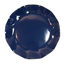 Beistle 10-Piece 8-1/4-Inch Plates, Small, Navy