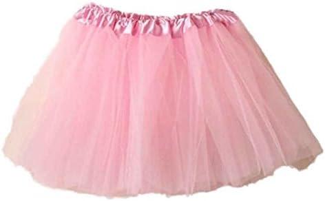 Hokoaidel Tutu Falda de Mujer Falda de Tul 50S Short Ballet ...