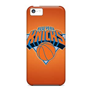 Protective Cell-phone Hard Covers For Iphone 5c With Customized High Resolution New York Knicks Skin CristinaKlengenberg