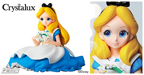 Disney Characters Crystalux Alice in Wonderland Figure Alice Alice In Wonderland Figure