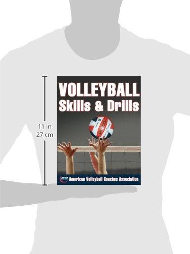 Volleyball skills drills american volleyball coaches association volleyball skills drills american volleyball coaches association avca 9780736058629 amazon books fandeluxe Gallery