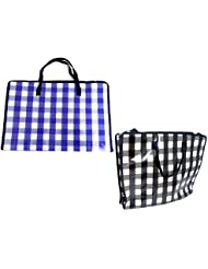 SHOPPING BAG 19 7X15X6 W ZIPPER Case Of 144
