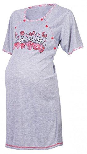 Happy Mama De Las Mujeres Maternidad Hospital vestido de uñas para trabajo y nacimiento. 193p Rosa
