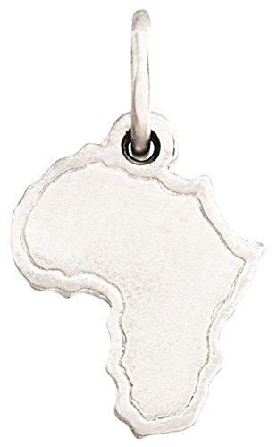 Helen Ficalora Africa Mini Charm White Gold by Helen Ficalora