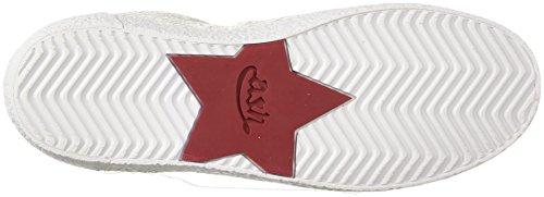 Women Sneaker Neck White AS Ash Coral 4dSq1twgx