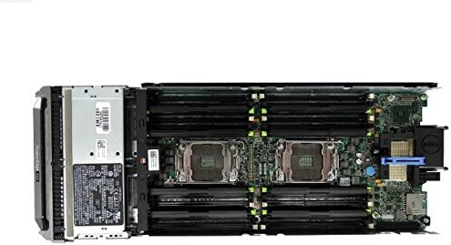 2X Intel Xeon E5-2650L 1.8GHz 8C PERC H310 2X 1TB 7.2K SAS 2.5 16GB DDR3 Dell PowerEdge M620 2-Bay SFF Blade Server iDRAC 7 Express Certified Refurbished