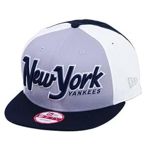 New York Yankees Snapitback Block 9FIFTY Snapback Hat Cap