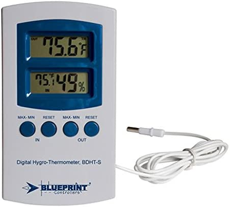 BluePrint Digital Hygro-Thermometer BDHT-S (Small) by BWGS