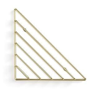 Strum Wall Organizer Brass