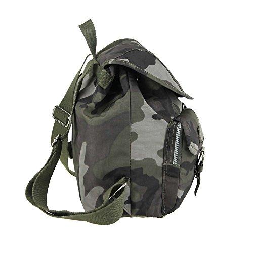 OBC Italiana de diseño unisex venecianas. & Niños Mochila Mochila de equipaje de mano bolsa de hombro Niños Tiempo Libre Bolso (Backpack Tablet/Netbook hasta aprox. 10–�?3pulgadas Army 33x33x16 cm