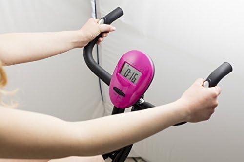 Galileo Casa Slimmy - Bicicleta estática Unisex para Adulto, Negra ...