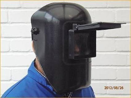 Soldador DIN 11 Gran Campo de visión 90 x 110 – Flip Up Sistema – Casco