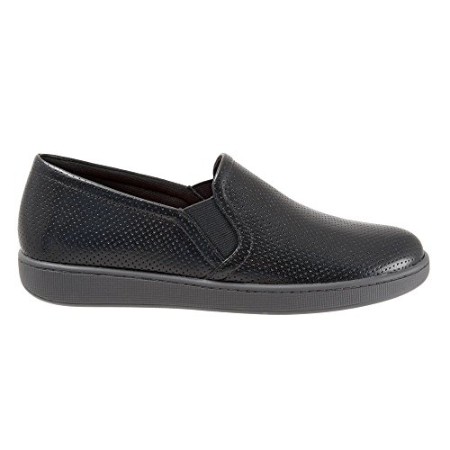 Trotters Women's Americana Flat Black Soft Leather cheap sale new stockist online cheap real finishline cheap sale outlet cGjE0y5n